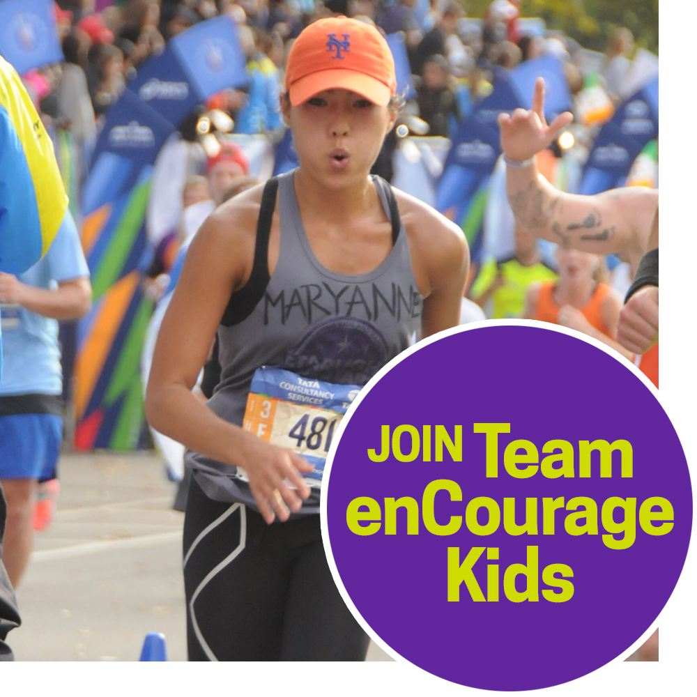 Run the NYC Marathon for enCourage Kids