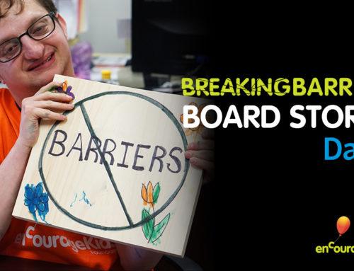 Breaking Barriers Board Stories: David
