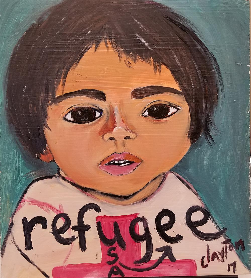 Alvin Clayton Barrier Board - Refugee