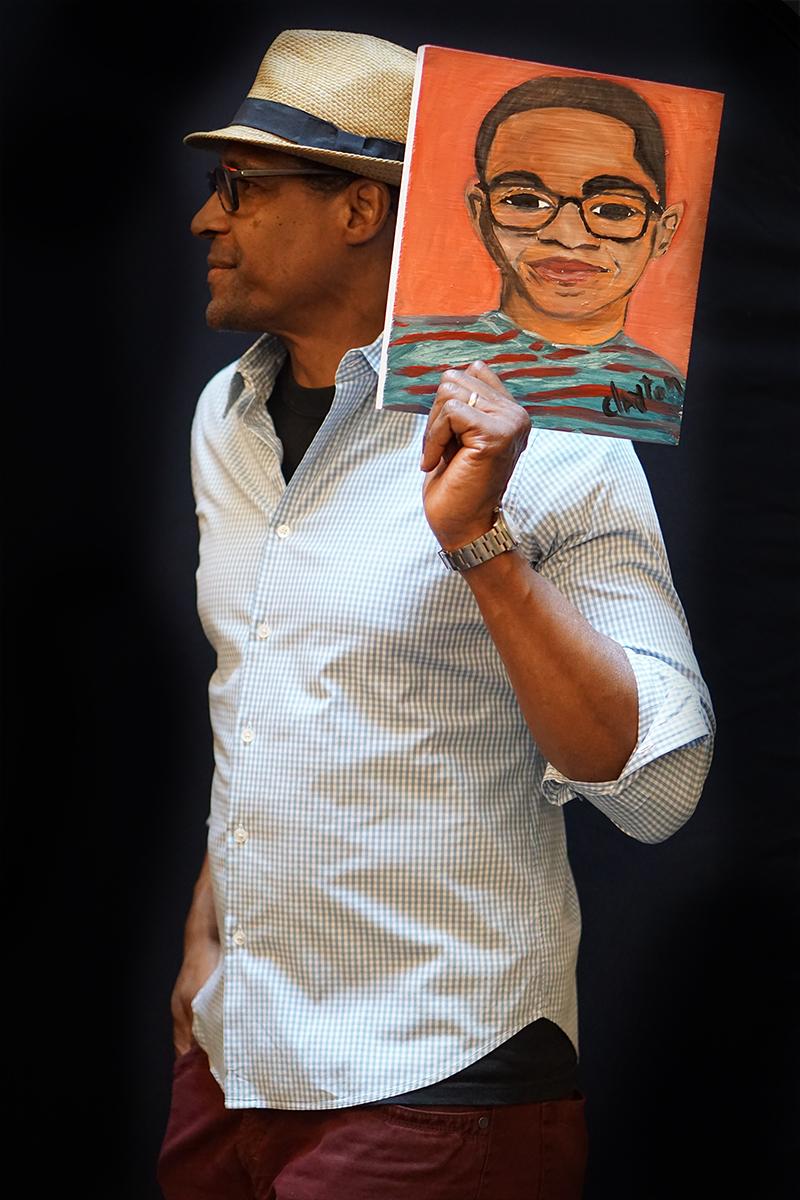 Artist Alvin Clayton