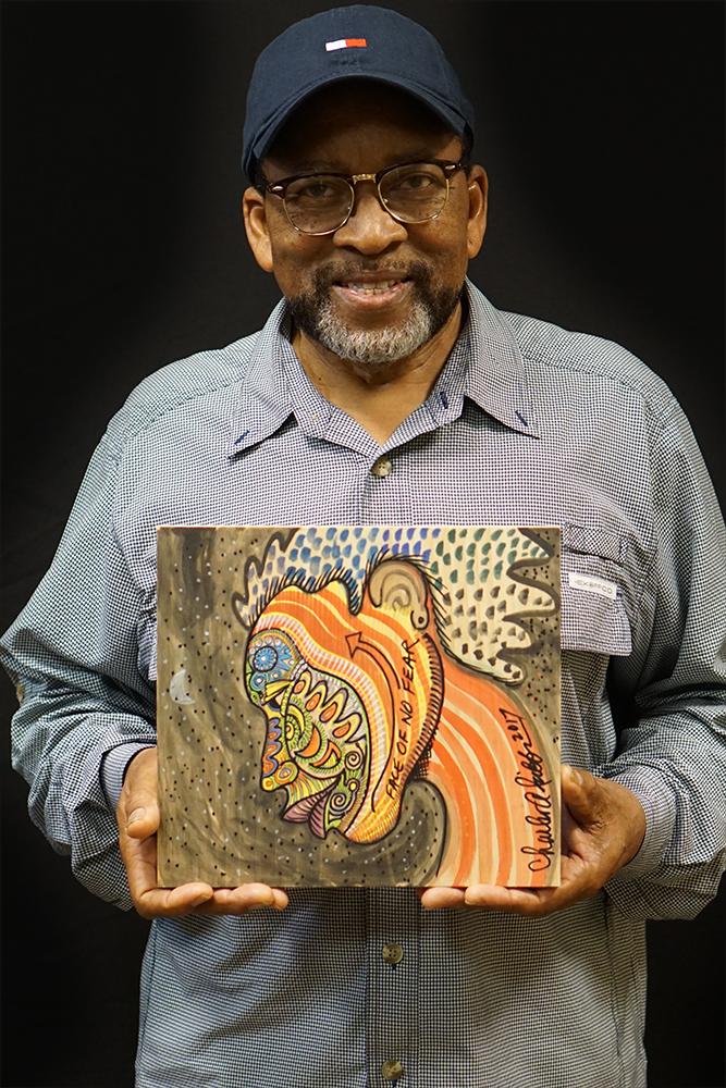 Artist Charles Bibb